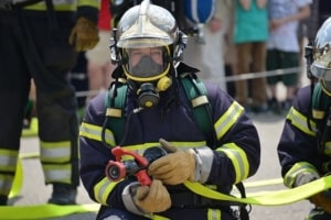 Feuerwehr Gasmaske